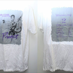 "Other - 2011 ""PRINCE- WELCOME 2 AMERICA TOUR"" Tee"